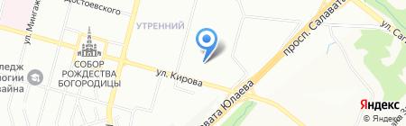 ВЕКОВЕК на карте Уфы
