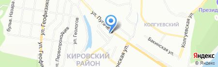Теплообмен-Уфа на карте Уфы