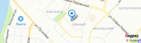 Мастерская по ремонту обуви на карте Уфы