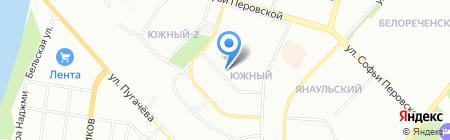 Мэрилин на карте Уфы