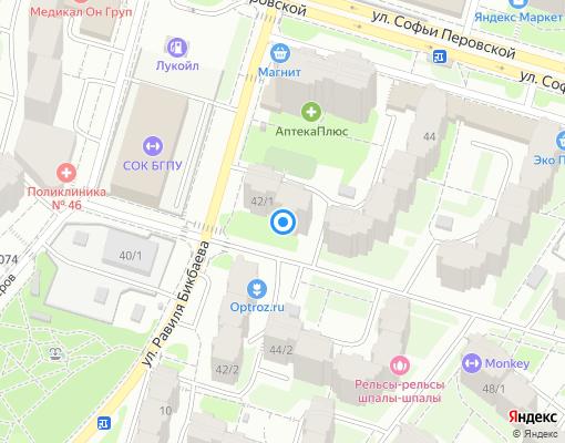 Управляющая компания «Южный» на карте Уфы