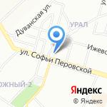 Ивашка-Уфа на карте Уфы
