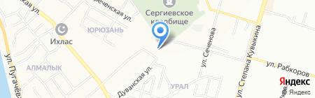 Авангард-АйТи на карте Уфы