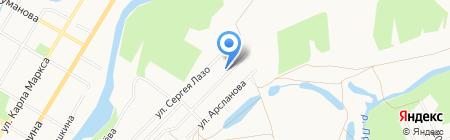Транспортная компания на карте Стерлитамака