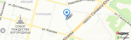 ARM на карте Уфы
