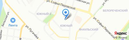 ТЕТ-А-ТЕТ на карте Уфы