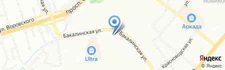 АЛЬФА-КЛИМАТ на карте Уфы