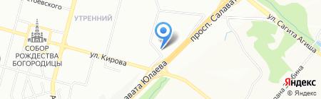 АверсСтрой на карте Уфы