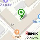 Местоположение компании М-Импульс