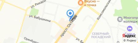 Монетный двор на карте Уфы