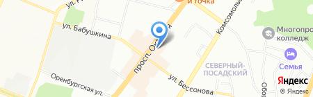 РУМИ на карте Уфы