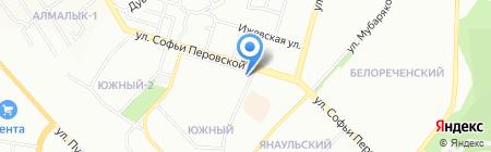 Свободный стиль на карте Уфы