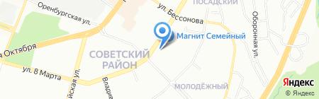 МАСТЕР ЗАЙМ на карте Уфы