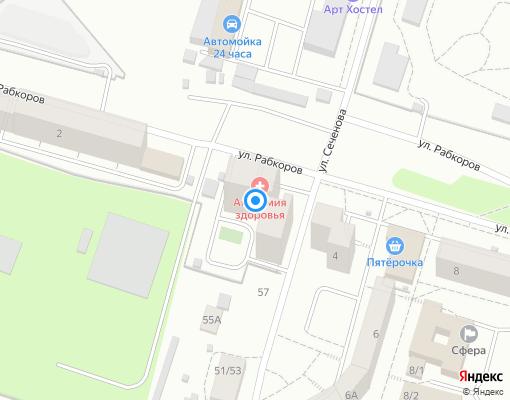 Товарищество собственников недвижимости «ТСЖ Урал-2» на карте Уфы