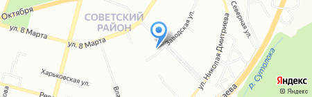 БлескСервис на карте Уфы
