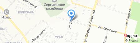 Видеоконтроль-Уфа на карте Уфы