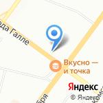 Эконом-магазин на карте Уфы