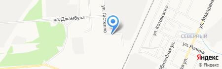 Колония-поселение №6 ГУФСИН России по Республике Башкортостан на карте Стерлитамака