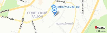 УфаСтройПроект на карте Уфы