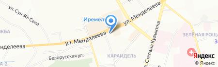 Ливада на карте Уфы