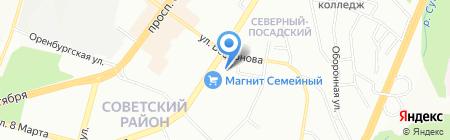 УралАвто на карте Уфы