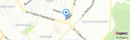 Магазин автоаксессуаров на карте Уфы