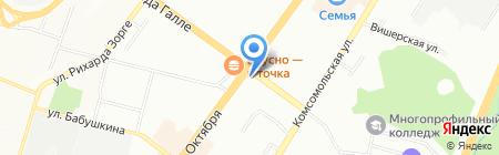 ЧейНОСОК на карте Уфы