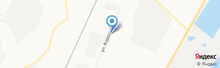 Башстройпоставка на карте Стерлитамака