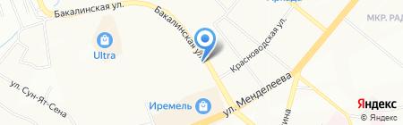 Связь на карте Уфы
