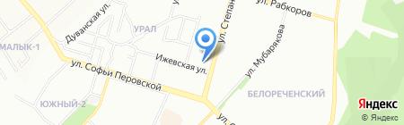 Пивная Академия на карте Уфы