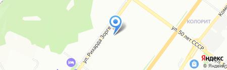 ProfiStyle на карте Уфы