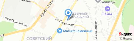 Премьер-Уфа на карте Уфы