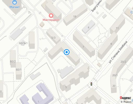 Товарищество собственников жилья «НО ТСЖ РИТМ» на карте Уфы