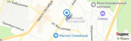 ВентаГрупп на карте Уфы