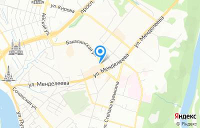 Местоположение на карте пункта техосмотра по адресу г Уфа, ул Бакалинская, д 15