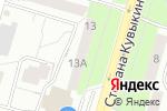 Схема проезда до компании Tanama.ru в Уфе