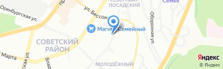 Уральская противопожарная строительная компания на карте Уфы