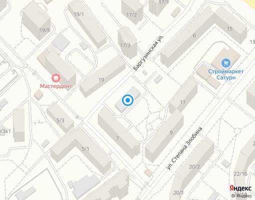 Управляющая компания «Дом» на карте Уфы
