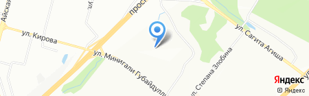 СтройТехРесурсы на карте Уфы