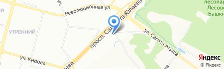 ВИП-МАЙЛ на карте Уфы