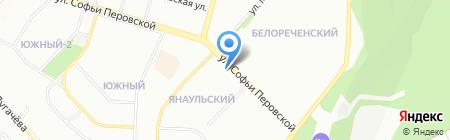 Эдельвейс на карте Уфы