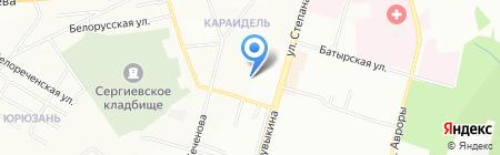 Средняя общеобразовательная школа №119 на карте Уфы