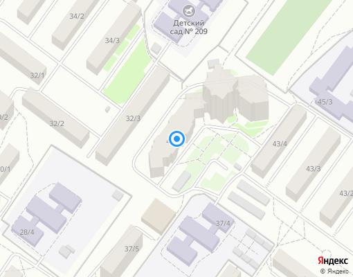 Товарищество собственников жилья «Проспект Октября 43/5» на карте Уфы