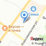 Кристанваль-Уфа на карте Уфы