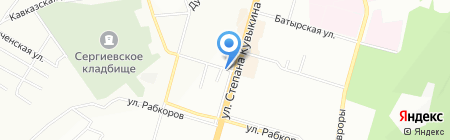 АльфаУфаПрофМонтаж на карте Уфы