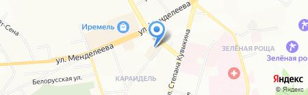 NIKA на карте Уфы