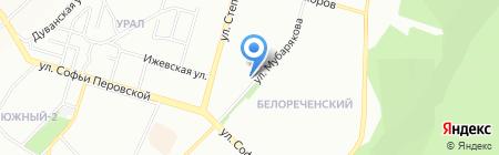 БЫТСКСЕРВИС на карте Уфы