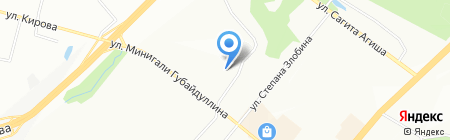 ИнжКом на карте Уфы