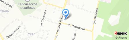 ФАРМЛЕНД на карте Уфы