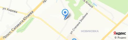 Adword на карте Уфы